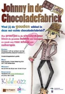 Johnny en de chocoladefabriek