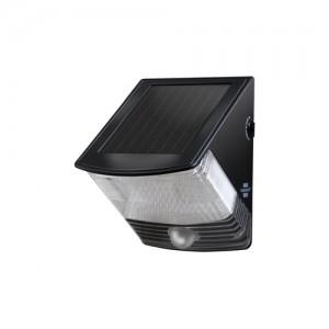 Voorbeeld Led-lamp met zonnecellen