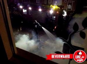 Brand aan Cannenburgstraat