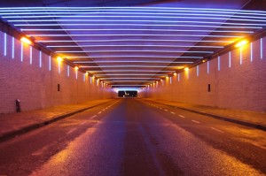 Hyperspeed tunnel