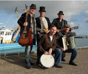 Ierse band 'Molly Malone'