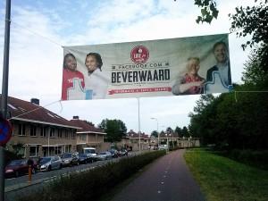 Banner Beverwaard Magazine, Beverwaardseweg