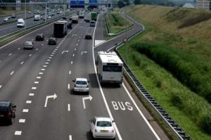 Busbaan A16 zijde Groenehagen