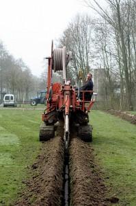 Vernieuwing drainage park Schinnenbaan