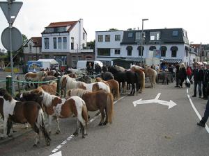 Paardenmarkt op Oud IJsselmonde