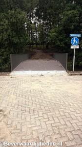 Nieuwe brug Weldamsingel