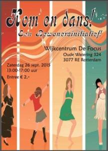 """Kom en Dans""middag 26 september"