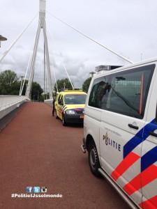 Scooter ongeval op van Cornelis van Beverenbrug