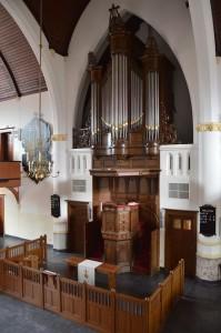 Orgel Adriaen Janszkerk