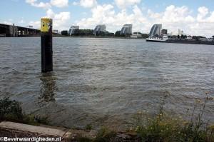IJsselmondsehoofd op dit moment zonder aanlegsteiger