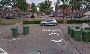 Oude in-uitgang Keverborgstraat