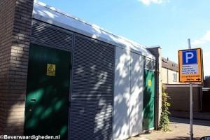 Gelijkrichter-station in renovatie