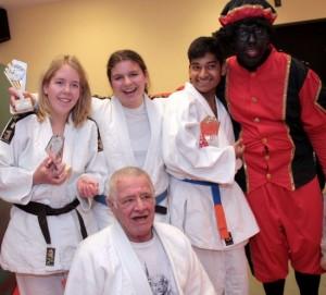 A-Judoka's vieren Sinterklaas met clubtoernooi